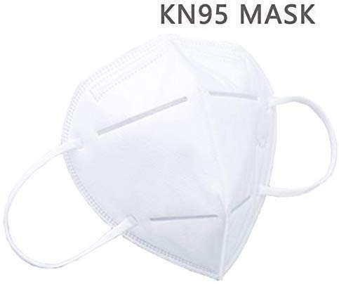 Respiratore Maschera, autoadescante Tipo di filtro anti-particolato respiratore, KN95 standard for la pulizia, bricolage, costruzione, uso della casa, Lavorazione del legno, Falciatura & More (10pz)