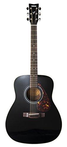 Yamaha F370 Chitarra Folk - Chitarra Acustica 4/4 in Legno - 6 Corde in Acciaio, Nero