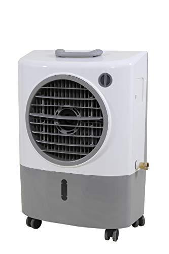 Hessaire MC18M Portable Evaporative Cooler  Gray, 1300 CFM, Cools 500 Square Feet