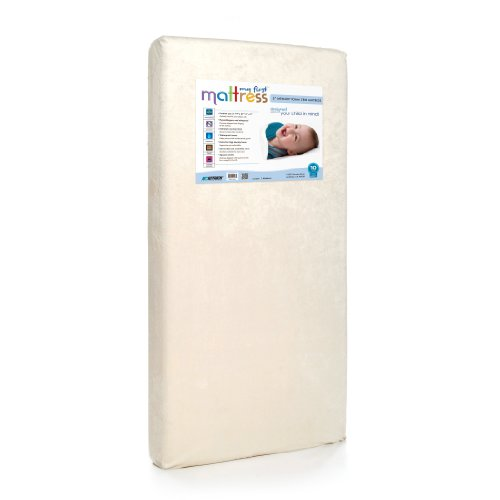 My First Crib Mattress, Breathable Memory Foam...