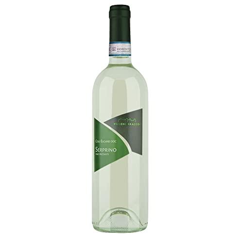 Poggio Bracco - Serprino frizzante Colli Euganei DOC - Vino tipico Veneto frizzante tradizionale da pasto   Bottiglia da 750 ml