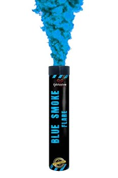Exclusive Online Smoke Grenade/Flare for Paintball, Weddings, Photo-shoots & Special Effects (Blue)