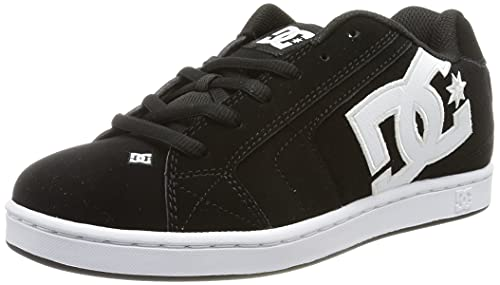 DC mens Net Skate Shoe, Black/Black/Black, 12 US