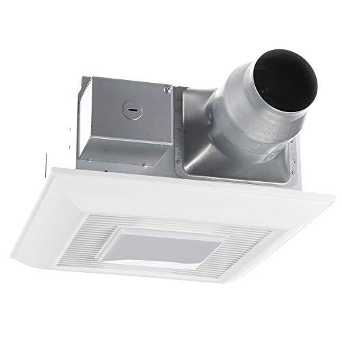 Panasonic FV-0811VFL5E WhisperFit EZ Retrofit Ventilation Fan with Light, 80 or 110 CFM