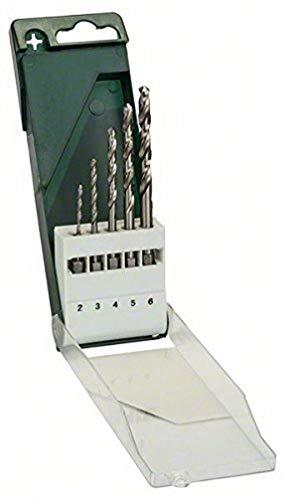 Bosch 2 609 255 127 - Juego De 5 Brocas Para Metal Hss-G Con Vástago De Inserción Hexagonal