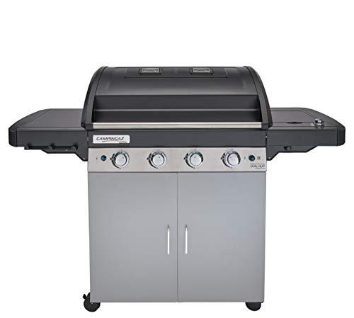 Campingaz 4 Series Dual Heat LS Plus Barbecue Gas con 2 Grill, 4 Bruciatori in Acciaio Inox e 1 a...