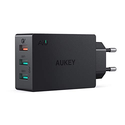 AUKEY Quick Charge 3.0 43,5W con 1 Porta Quick Charge