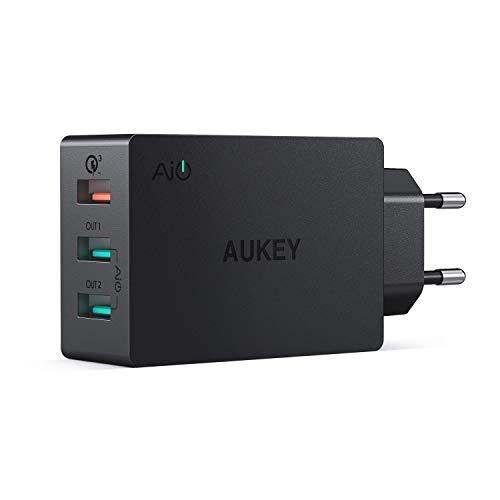 AUKEY Quick Charge 3.0 Caricatore USB da Muro...
