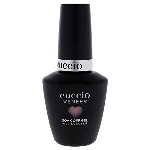Cuccio - Veneer Gel Nail Polish - Texas Rose - Soak Off Lacquer for Manicures & Pedicures, Full Coverage - Long Lasting, High Shine - Cruelty, Gluten, Formaldehyde & Toluene Free - 0.43 oz