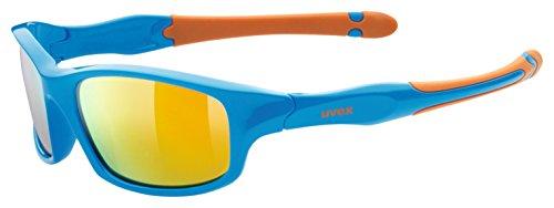 uvex Unisex Jugend, sportstyle 507 Sonnenbrille, blue-orange, one size