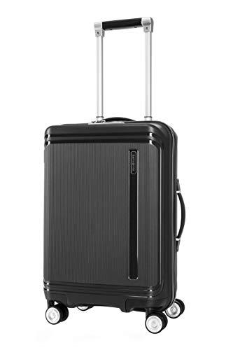 SAMSONITE Hartlan Polypropylene 55.5 cms Black Hardsided Cabin Luggage (SAM HARTLAN Spinner 55...