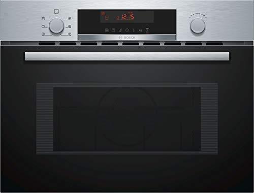 Micro ondes Combiné Encastrable Bosch CMA583MS0 - Micro-Ondes combiné Integrable Inox et noir - 44 litres - 900 W
