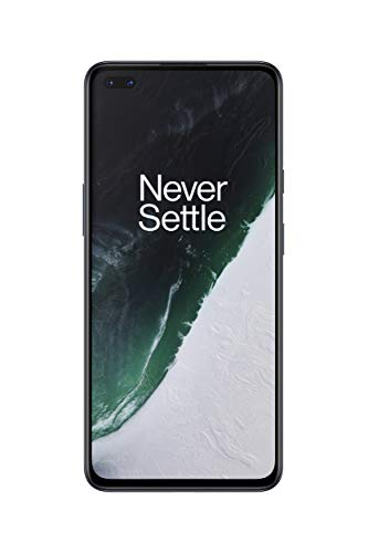 OnePlus Nord - Smartphone Débloqué 5G (Écran 6,44' Fluid AMOLED 90 Hz - 12GB RAM - 256GB Stockage - Quad Caméra - Warp Charge 30T) - 2 Ans de Garantie Constructeur - Ash Grey [FR Version]
