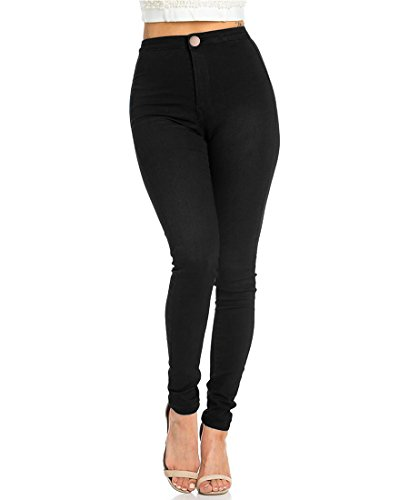 JYONE Jeans Damen, Skinny Jeans Denim High Waist Slim Leggings...