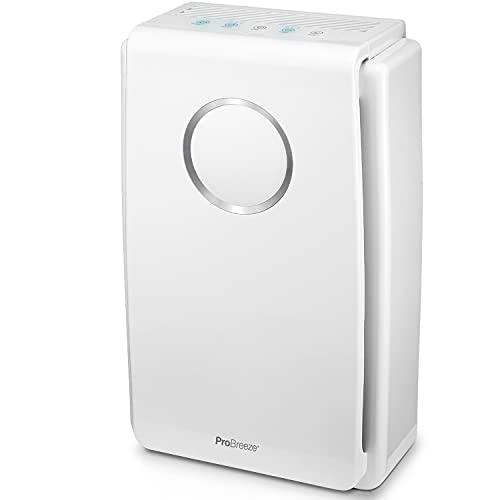 Pro Breeze Purificador de aire 5 en 1 con pre-filtro, filtro...