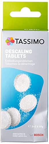 Pastillas Bosch de Limpieza y Descalcificación para Cafeteras TASSIMO