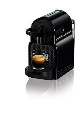 De'Longhi Nespresso Inissia EN80.B Macchina per caff espresso, a capsule, 1260 W, 14 Decibel, 19 bar, Nero