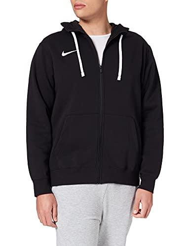 Nike, Park 20 , Felpa con Cappuccio E Zip, nero / bianco / bianco, M