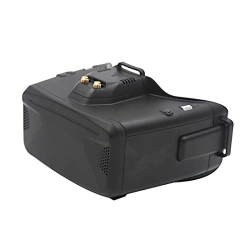 SKYZONE Cobra S 800x480 4.3 'Cobra X 1280x720 4.1' 5.8G 48CH RapidMix Ricevitore Testa Tracker DVR FPV Occhiali per FPV Racing Drone (Nero COBRA X)