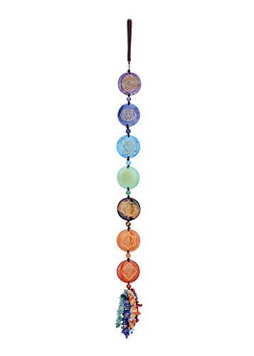 CrystalTears Chakra Stones Crystal Hanging Ornament Reiki...