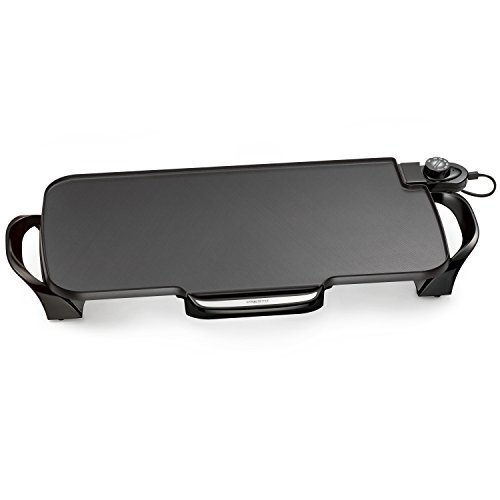 Electric Griddle With Removable Handles
