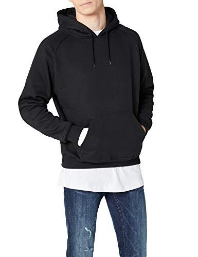 Urban Classics Pullover Blank Hoody Felpa da Uomo, Nero (Black), XX-Large (Taglia Produttore: XX-Large)