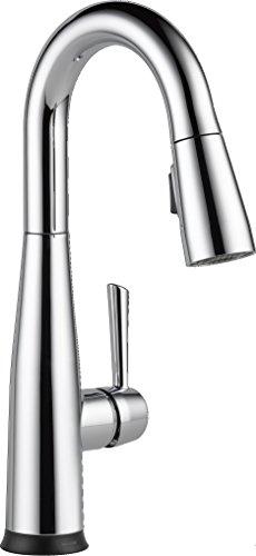 DELTA Essa Single-Handle Bar-Prep Touch Kitchen Sink Faucet...