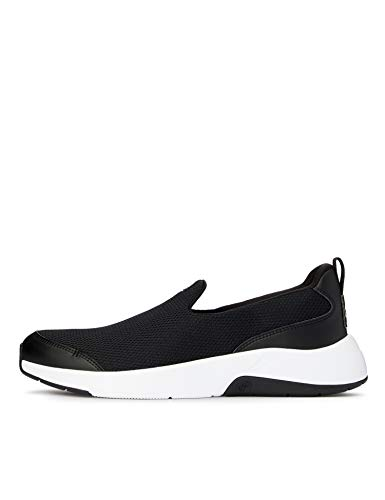 CARE OF by PUMA Slip on Runner Low-Top Sneakers, Negro (Black-White), 42 EU
