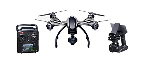 Yuneec Typhoon Q500 Drone con Macchina 4K Versione Base, Grigio/Nero