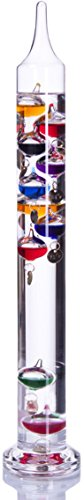 Palais Essentials Galileo Thermometer - Floating Glass Balls...