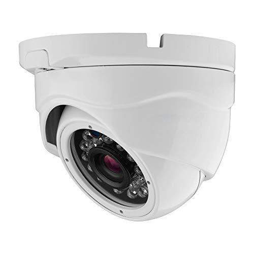 PNI House AHD47 Telecamera per Videosorveglianza Dome Varifocale 1080P 4 in 1, Bianco
