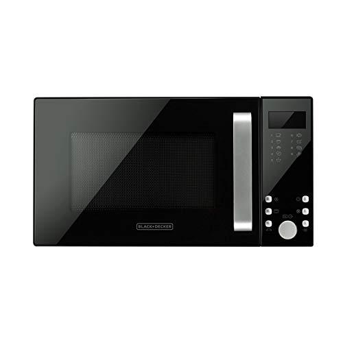 Black+Decker BXMZ900E Mikrowelle, 23 Liter, 18/10 Steel