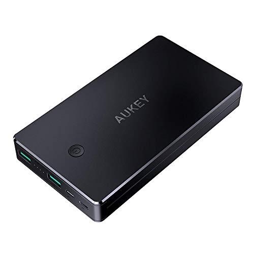 AUKEY Powerbank 20000mAh, Caricabatterie Portatile...