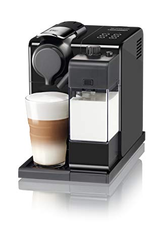De'Longhi Nespresso Lattissima Touch Animation EN560.B Macchina da caffè, 1400 W, 1 Tazza, 19 Bar, Plastica, Nero