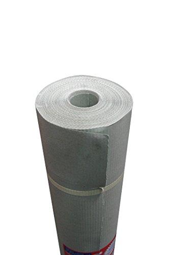 Private Label Mt 1 X 45 (50 Yard) - Cartone copripavimento idrofugo tipo siliconato in superficie,...
