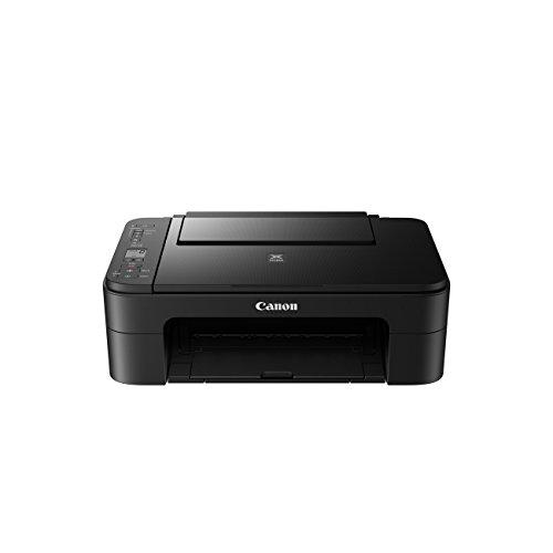Canon PIXMA TS3150 Drucker Farbtintenstrahl Multifunktionsgerät DIN A4 (Scanner, Kopierer, 4.800 x 1.200 dpi, WLAN, USB, Apple AirPrint, PIXMA Cloud-Link), schwarz