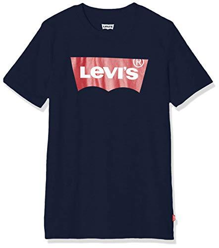 Levi's Kids Lvb Batwing Tee T-shirt Bambino Dress Blues 10 anni