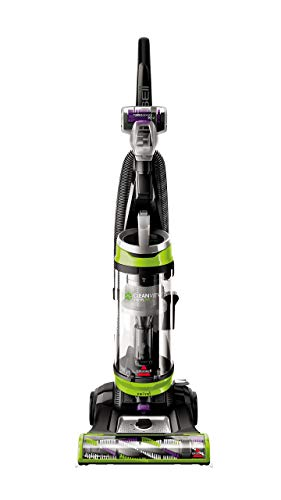 BISSELL Cleanview Swivel Pet Upright Bagless Vacuum Cleaner, Green, 2252 (Renewed)