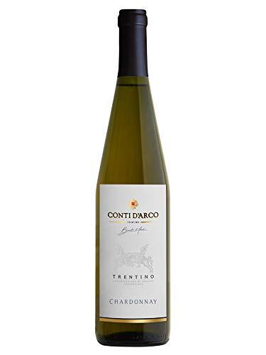 CHARDONNAY Trentino DOC - Conti d'Arco - Vino bianco fermo 2017 - Bottiglia 750 ml