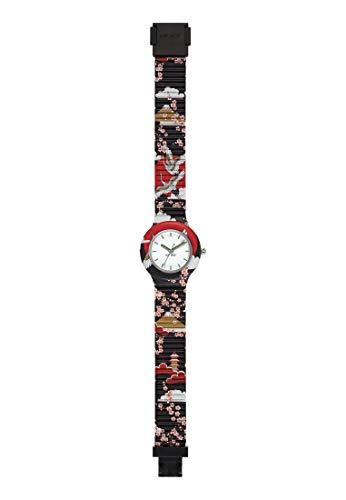 HIP HOP Ladys' I LOVE JAPAN WATCH Collection MONO-COLOUR WHITE dial 3 Hands QUARTZ movement and...