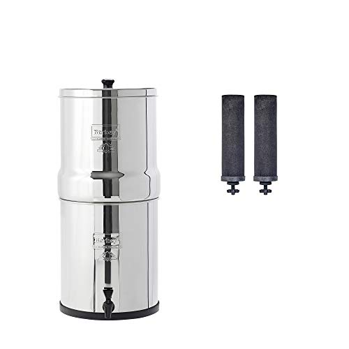 Product Image 1: Big Berkey Gravity-Fed Water Filter with 2 Black Berkey Purification Elements