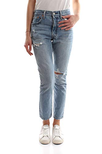 Womens Levi's 501 Skinny Jeans in can't touch this.