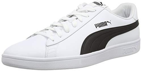 Puma - Smash V2 L, Zapatillas Unisex adulto, Blanco (Puma Wh