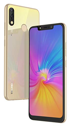 Tecno CAMON iSKY3 (2GB+32GB) with Notch Display and Dual Rear Camera (Champagne Gold) 1