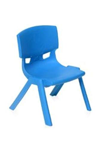 NILKAMAL INTRA KIDS STRONG AND DURABLE KIDS PLASTIC SCHOOL STUDY CHAIR-(MEDIUM) BLUE