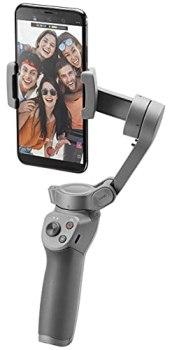 DJI Osmo Mobile 3 - Stabilisateur de Cardan 3 Axes Compatible avec iPhone et Smartphone, Design Léger et Portable, Prise de vue Stable, Contrôle Intelligent