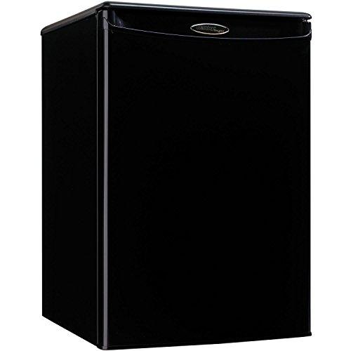 Danby DAR026A1BDD-3 Compact Refrigerator, 115 V, 15 A, 1 Door, 2.6 cu.ft, Black