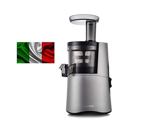 Estrattore di succo Hurom ITALIA H-AA DBE17 Grigio Terza Generazione 17 giri al minuto con Garanzia...