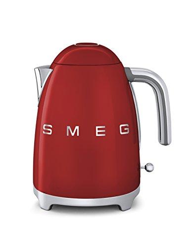 Smeg KLF01RDEU Wasserkocher 1,7 L, rot