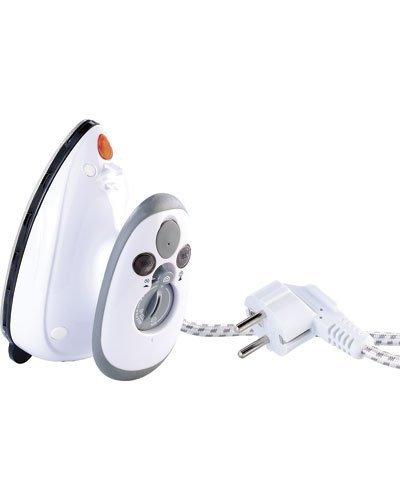 Sichler Haushaltsgerte Mini Ferro: Ferro da stiro compatto per viaggi e vacanze, 110 e 230 volt (Mini ferro a vapore)